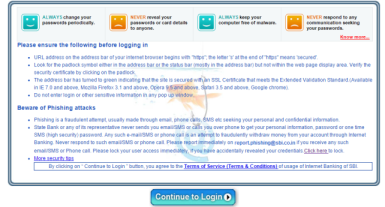 sbi-personal-banking-login